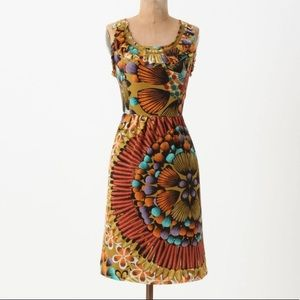Edme & Esyllte Silk Printed Dress